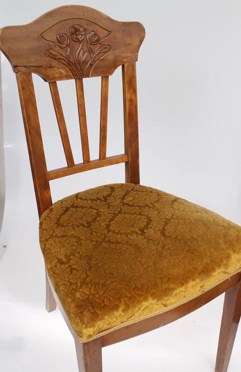 Jūgendstila krēsls