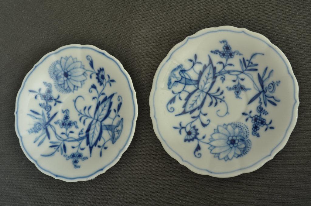 Meisenes porcelāna šķīvji 6 gab.
