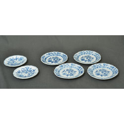 Meissen porcelain plates 6 pcs.