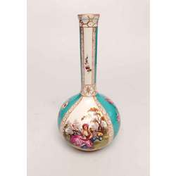 Early Meissen porcelain vase