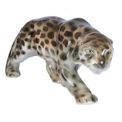 Fajansa figūra''Leopards''